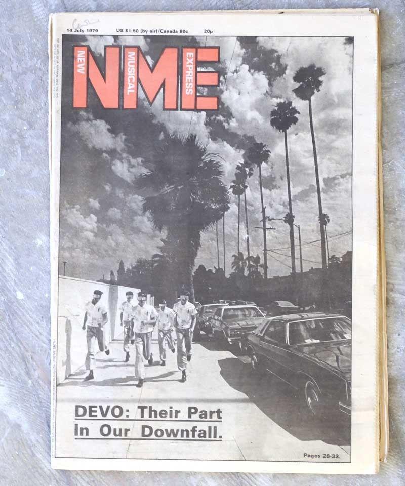 NME(14/JULY/1979:表紙DEVO)