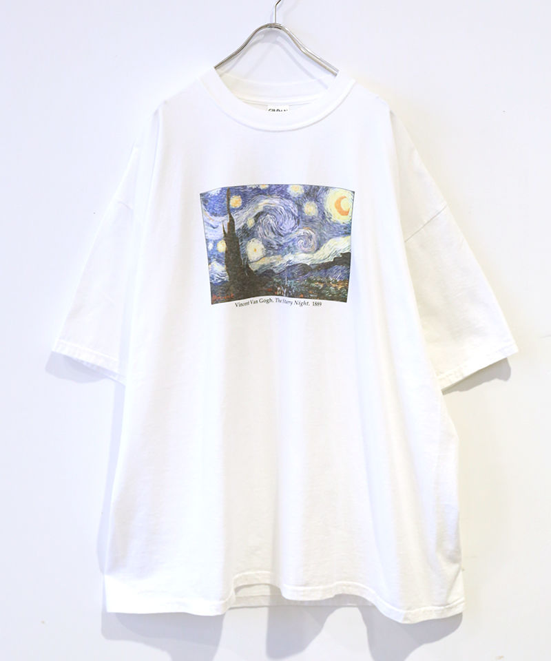 [USED] S/S T-SHIRT GOGH (WHITE)