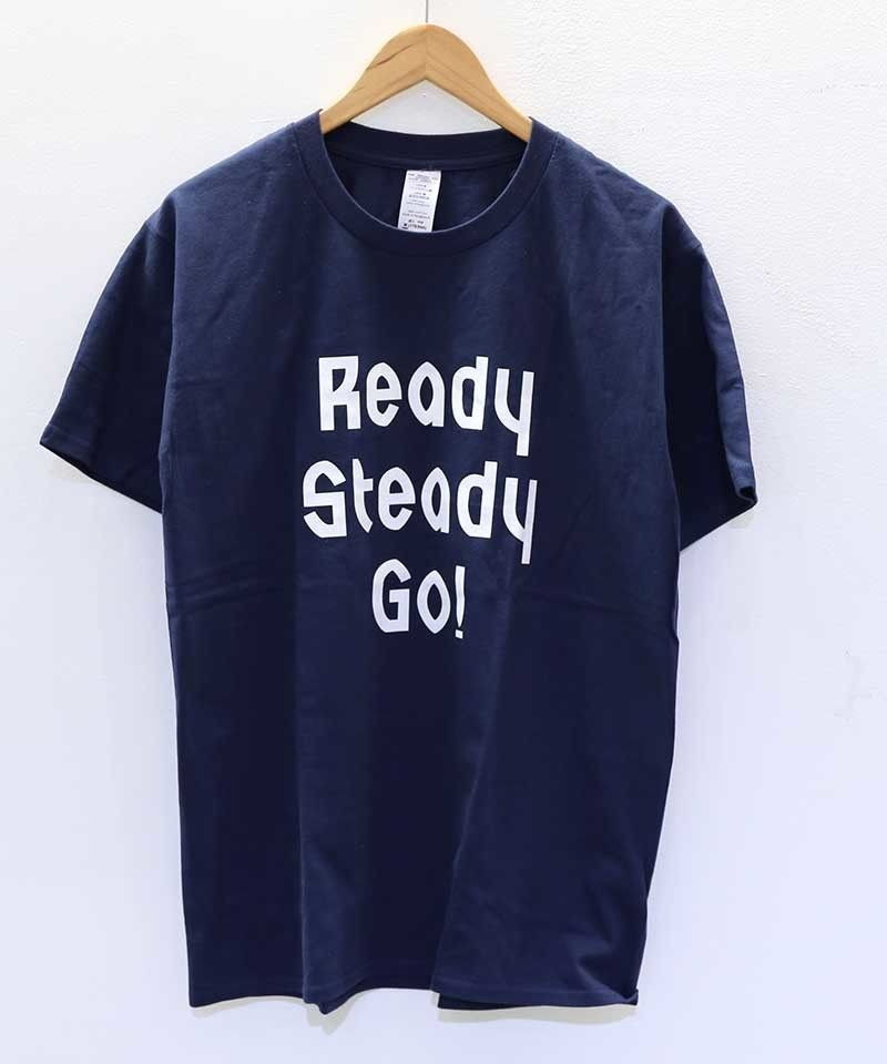 [READY STEADY GO] S/S T-SHIRT (NAVY)