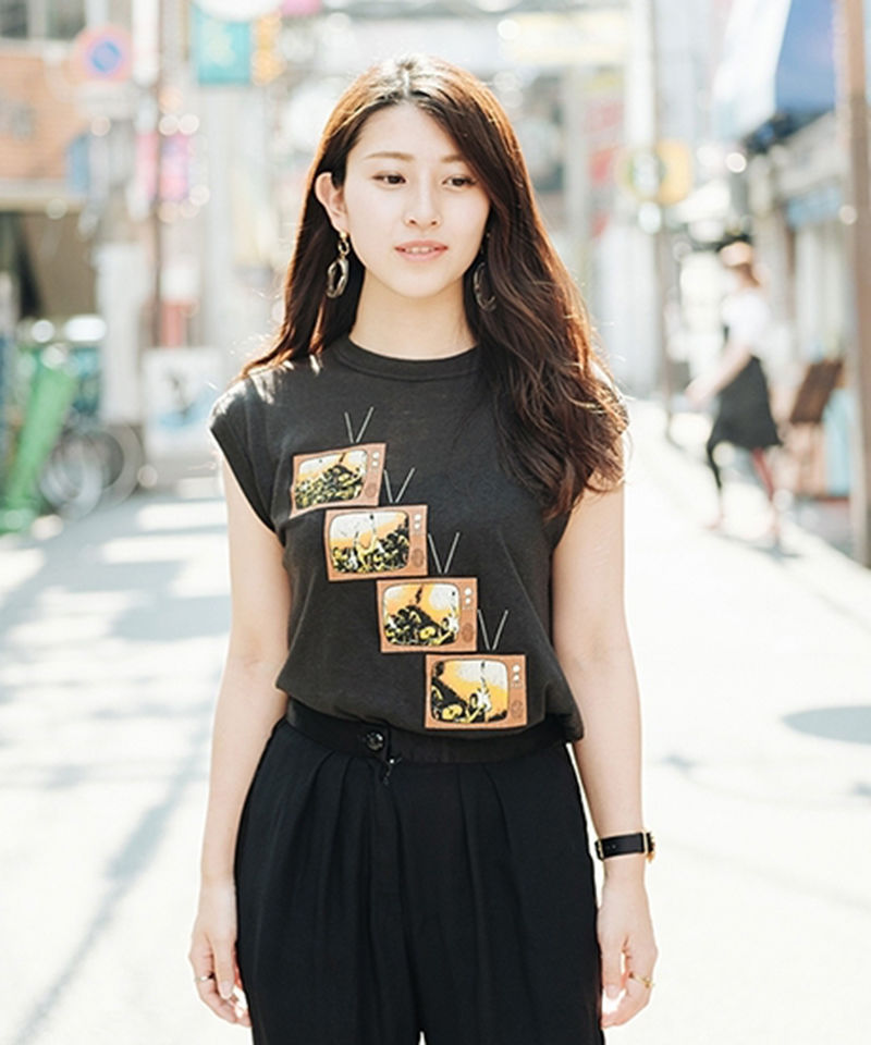 [USED] N/S T-SHIRT  TV