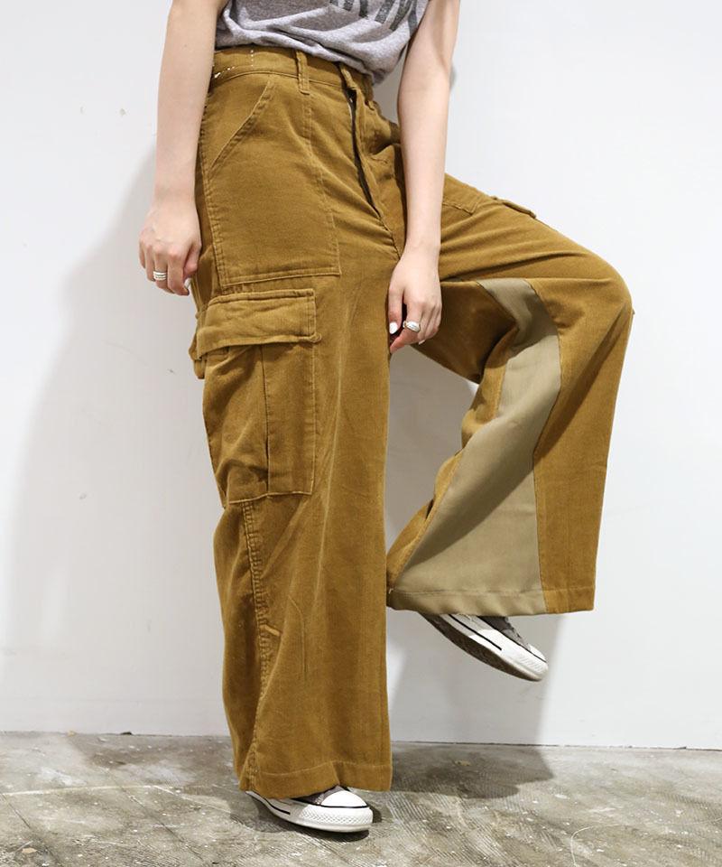 [REMAKE] CORDUROY  WIDE PANTS 1
