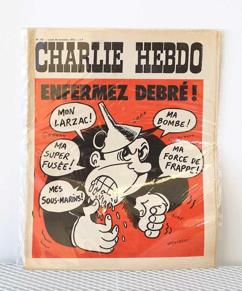 CHARLIE HEBDO(20/november/1972)