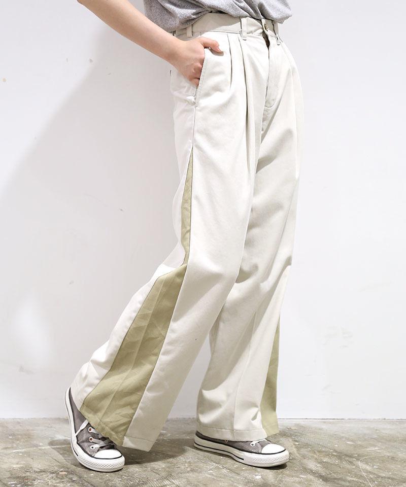 [REMAKE] CHINO WIDE PANTS 2