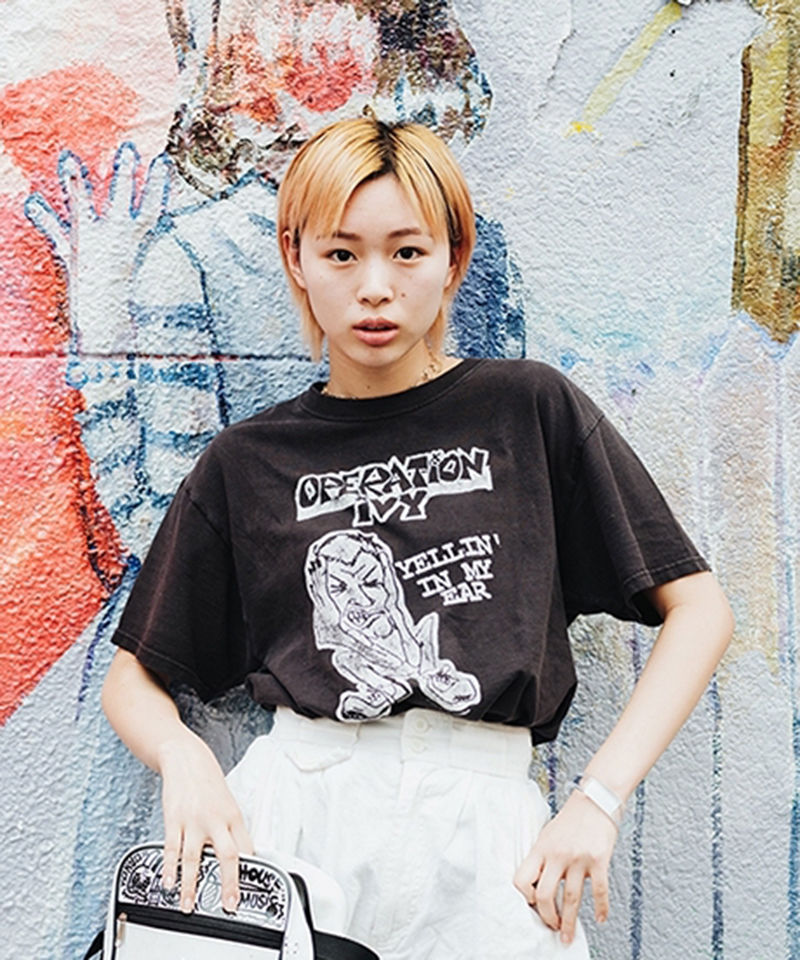 [USED] S/S T-SHIRT  OPARATION IVY