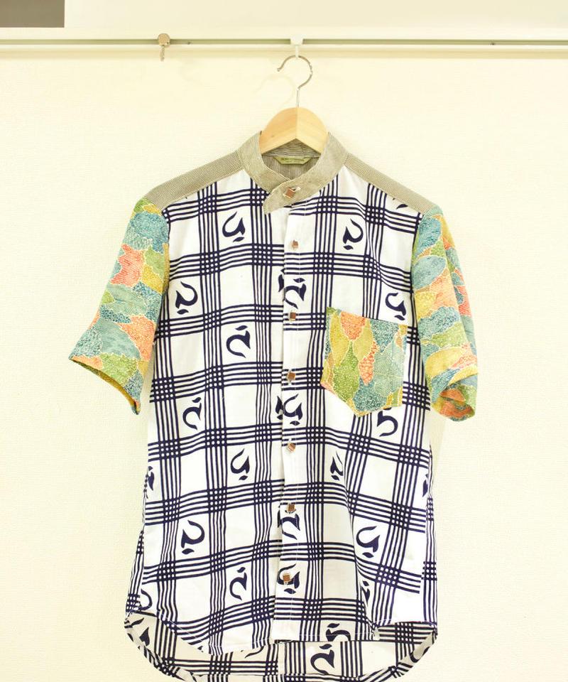 japanese character kimono shirt (no.179)