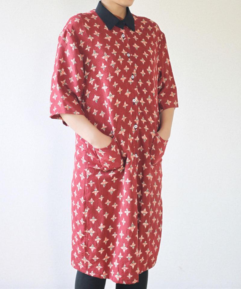 Long shirt style one piece dress (no.079)