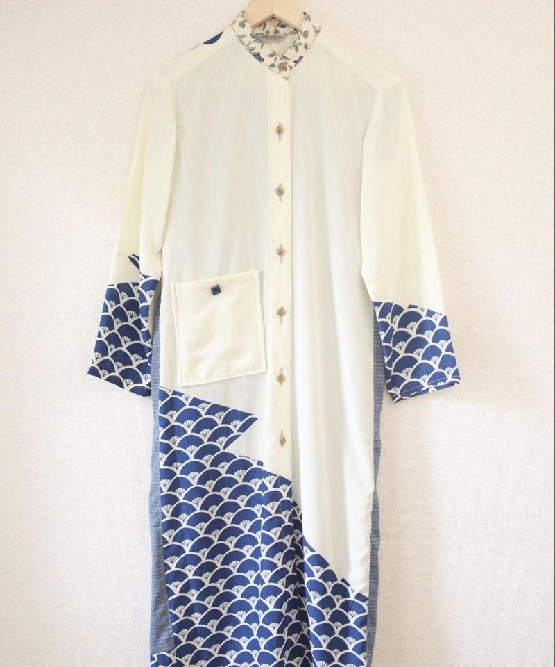 Women's stand-collar long dress/jacket (no.016)