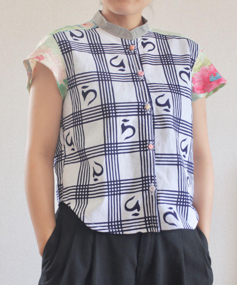 Yukata&Kimono Summer Short Shirt (no.174)