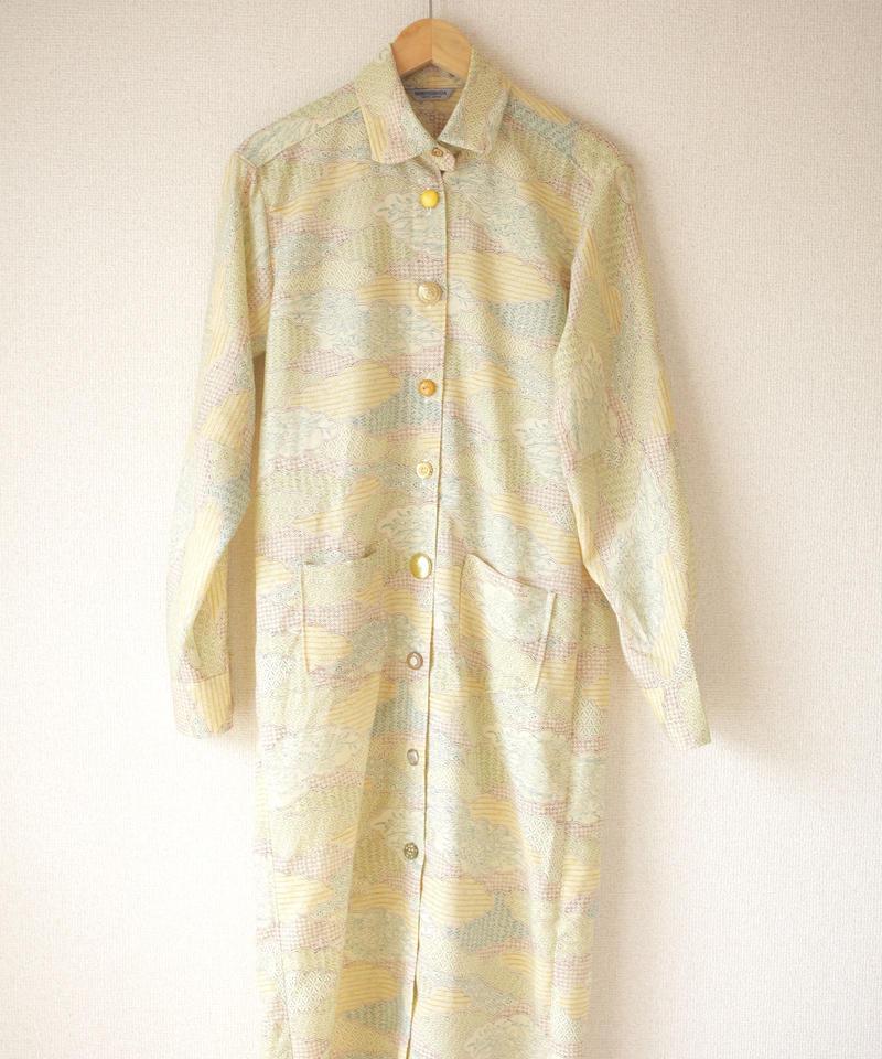 Women's/Unisex Long shirt one-piece dress (no.019)