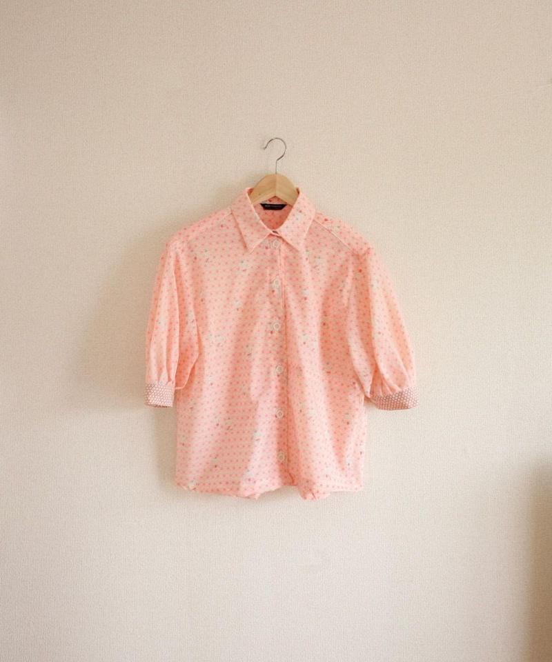 Baby pattern Pink summer Shirt (no.319)