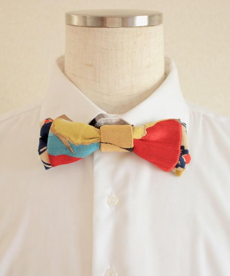Gorgeous Japanese Kimono Bow tie ① (no.308)