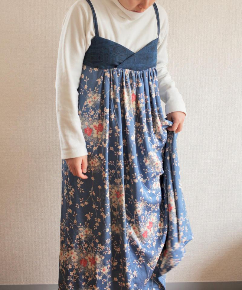 Sakura Kimono camisole dress (no.262)