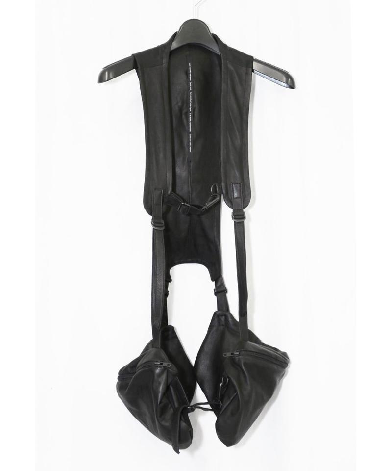 NU-1306 Leather Vest Bag
