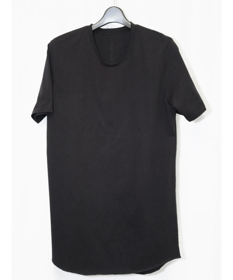 NU-1372  Back  Print T-shirt BLACK