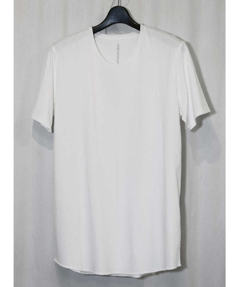 NU-1372  Back  Print T-shirt OFF WHITE
