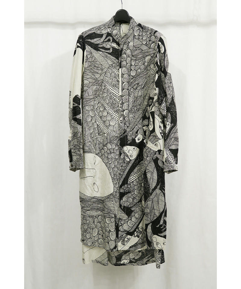 "DU-134-AP ""DISTORTION3"" Limited Print Long Shirt  4"