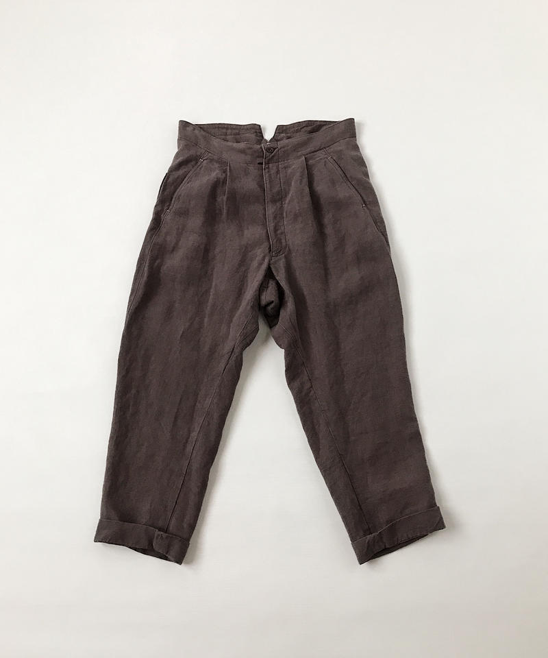kaval Buckle back trousers