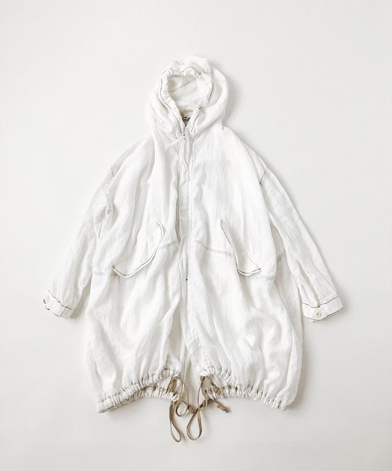kaval Blancket stitch foodie coat