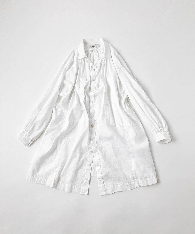 kaval Front open smock coat