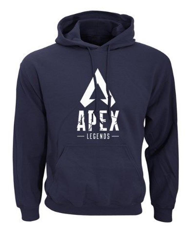 APEX LEGENDS ロゴプリント クールデザイン 長袖 フード付 メンズ スウェットパーカー 春秋 ストリート トップス S~XXL