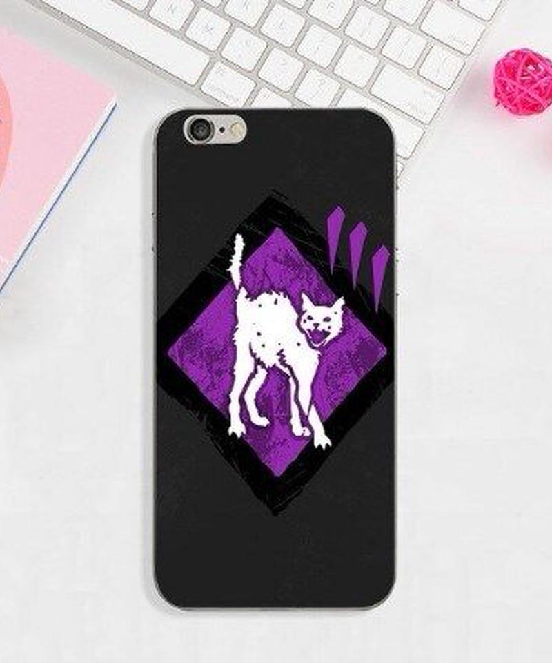 Dead by Daylight キラー パーク シンプルデザイン iPhoneケース  スタイリッシュ バックプリント カバー iPhone X対応 DbD スマホ ソフトTPUケース 9タイプ
