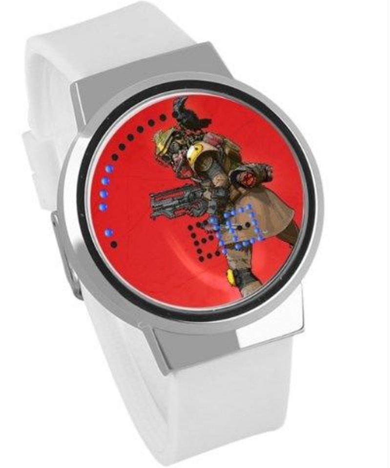 APEX LEGENDS ロゴ イラスト 文字盤 ウォータープルーフ LED 腕時計 男女兼用 09