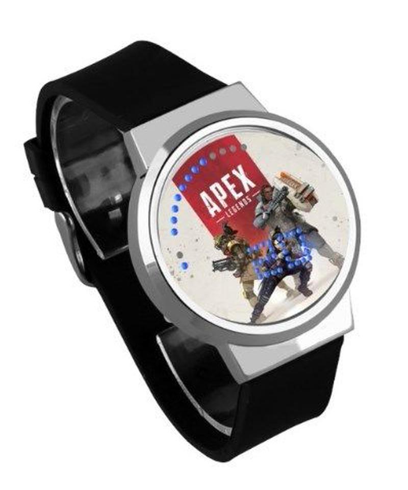 APEX LEGENDS ロゴ イラスト 文字盤 ウォータープルーフ LED 腕時計 男女兼用 12