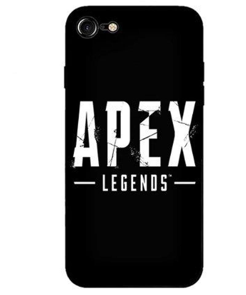 APEX LEGENDS シンプル ロゴデザイン iPhoneケース スーパーソフトシリカゲル  バックカバー
