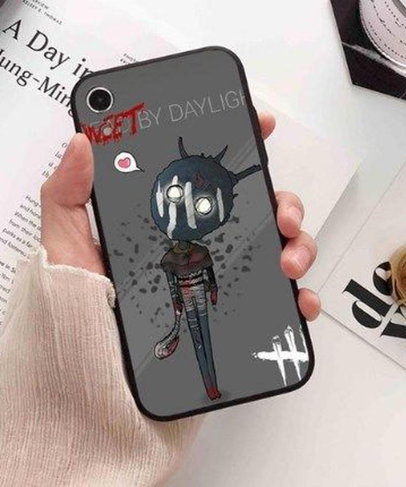 Dead by Daylight キラー サバイバー クール イラストデザイン プリント バックカバー iPhoneケース X XS MAX XR対応 DbD スマホ ソフトTPUケース 8パターン