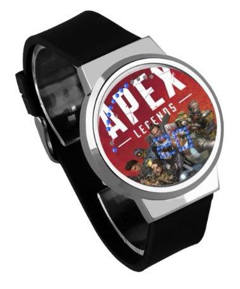 APEX LEGENDS ロゴ イラスト 文字盤 ウォータープルーフ LED 腕時計 男女兼用 13