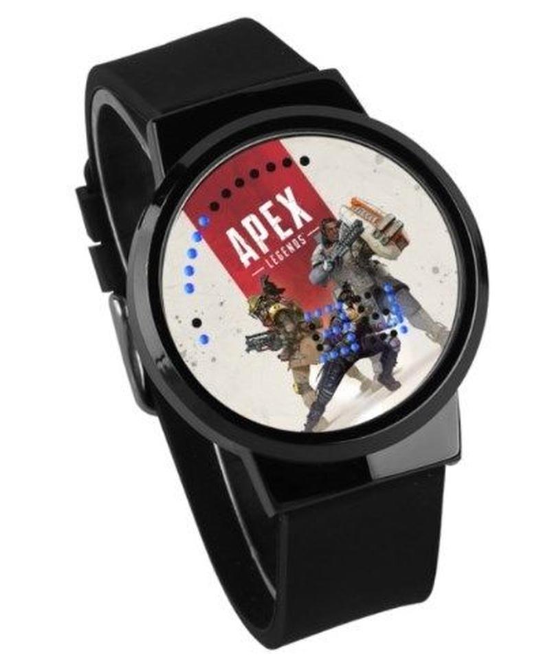 APEX LEGENDS ロゴ イラスト 文字盤 ウォータープルーフ LED 腕時計 男女兼用 02