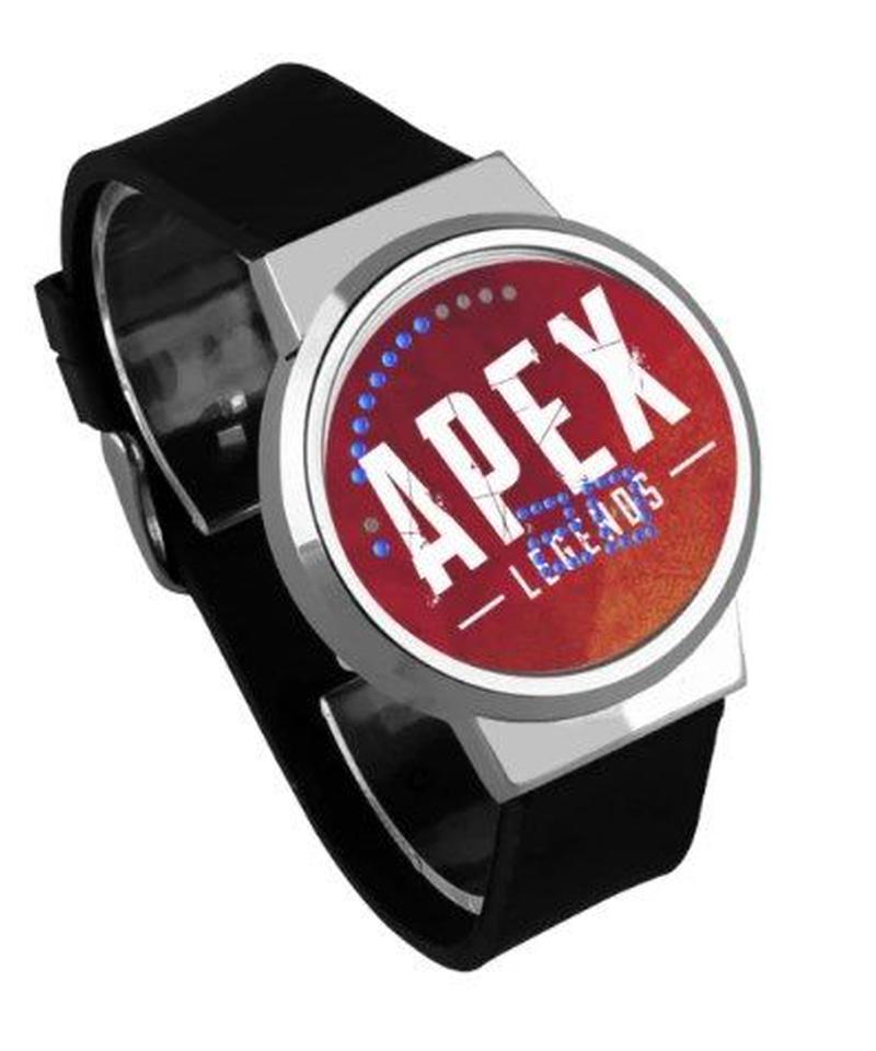 APEX LEGENDS ロゴ イラスト 文字盤 ウォータープルーフ LED 腕時計 男女兼用 11