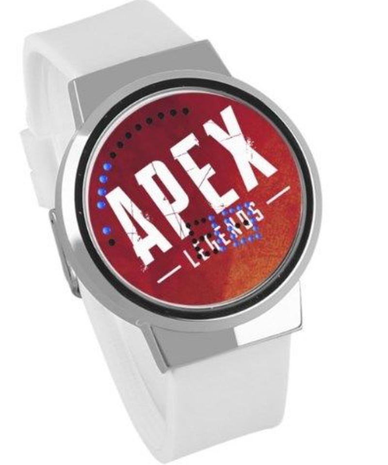APEX LEGENDS ロゴ イラスト 文字盤 ウォータープルーフ LED 腕時計 男女兼用 06