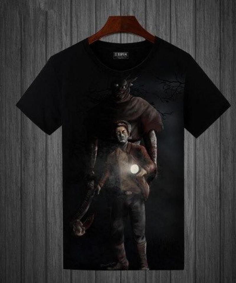 Dead by Daylight レイス&サバイバー BIG フルプリント 半袖 メンズ Tシャツ S~5XL