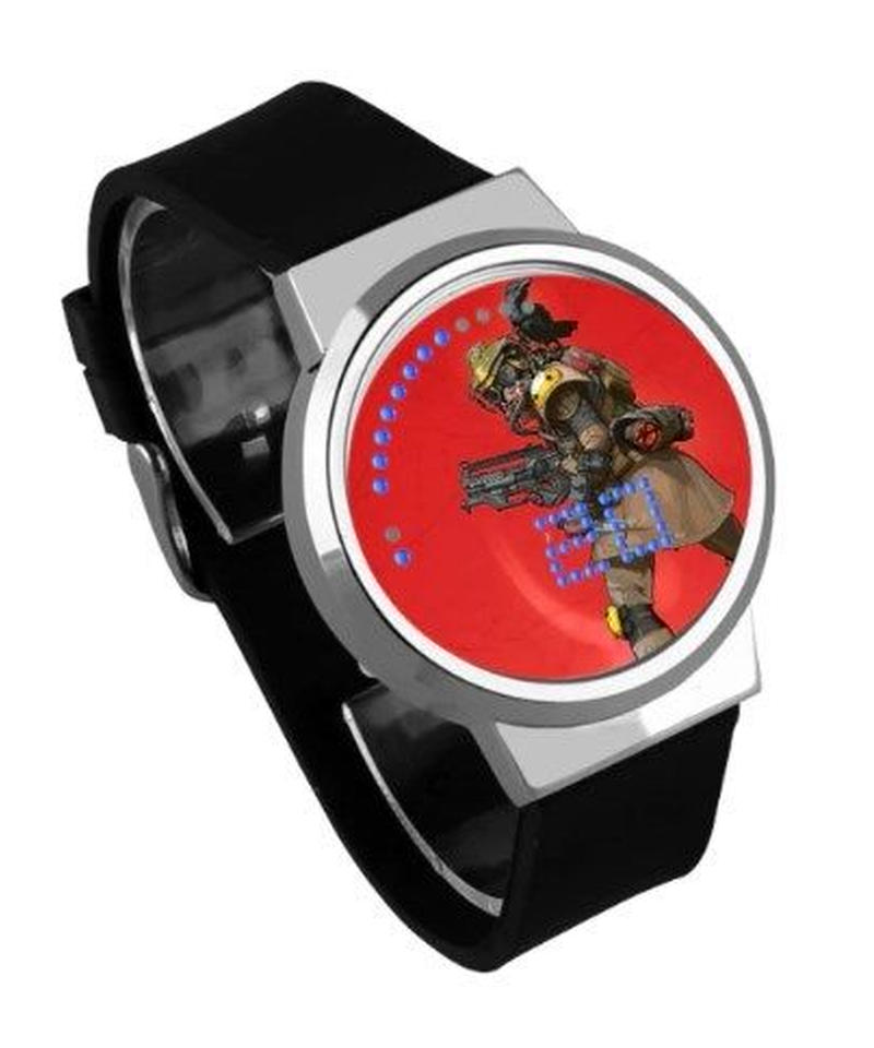 APEX LEGENDS ロゴ イラスト 文字盤 ウォータープルーフ LED 腕時計 男女兼用 14