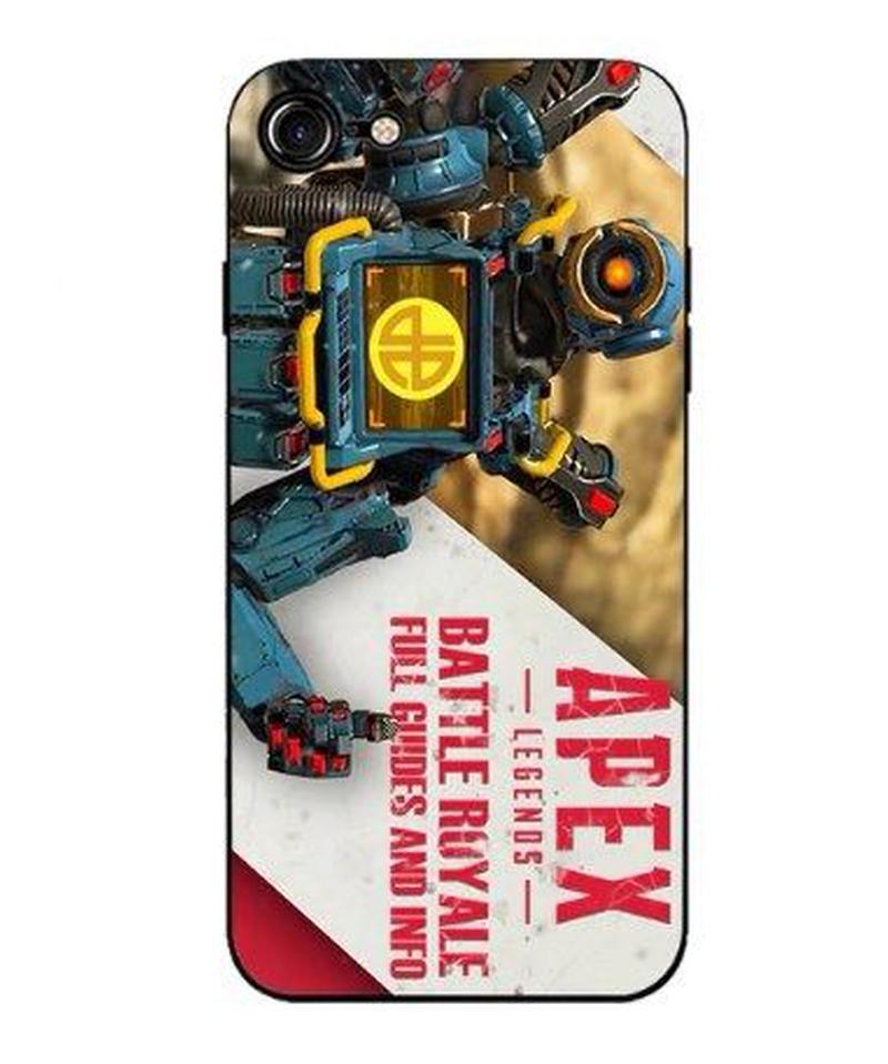 APEX LEGENDS クール イラスト デザイン iPhoneケース スーパーソフトシリカゲル  バックカバー