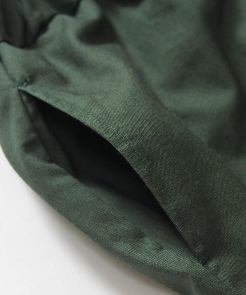 【 UNIONINI 2018AW 】 PT-059 layer pants / green