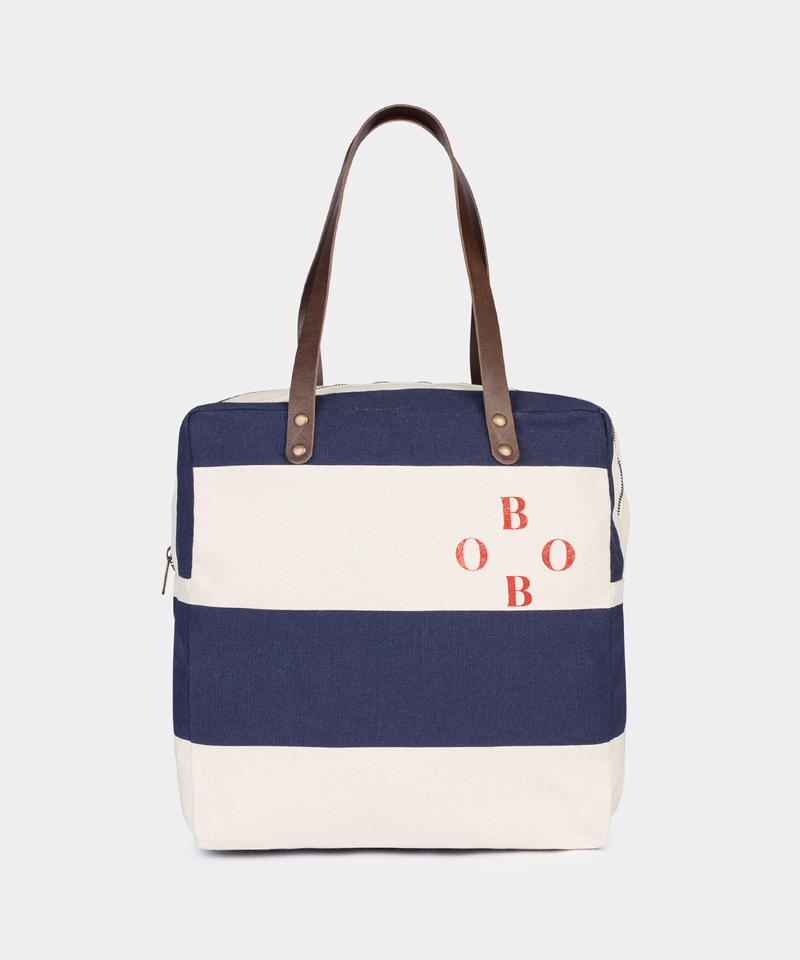【 Bobo Choses 2019AW 】219220 BOBO STRIPED HAND BAG