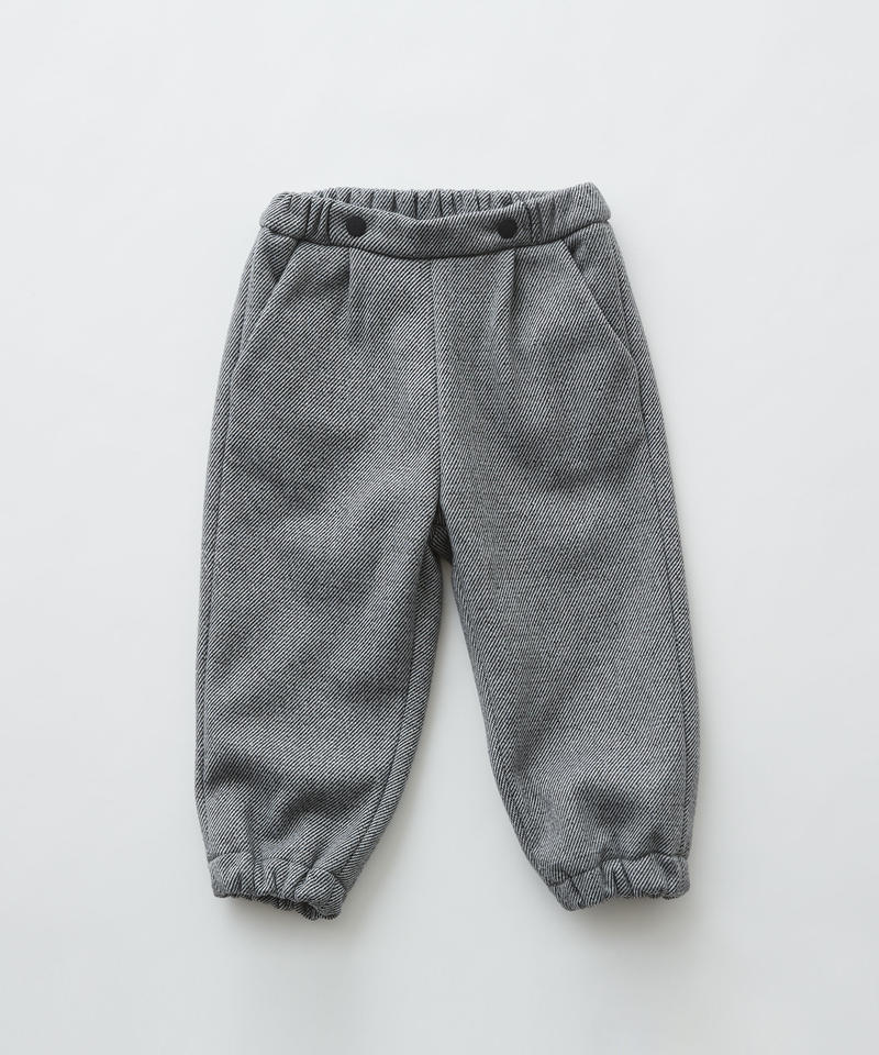 【 eLfinFolk 2019AW 】elf-192F30 freece pants / gray / 110 - 130cm
