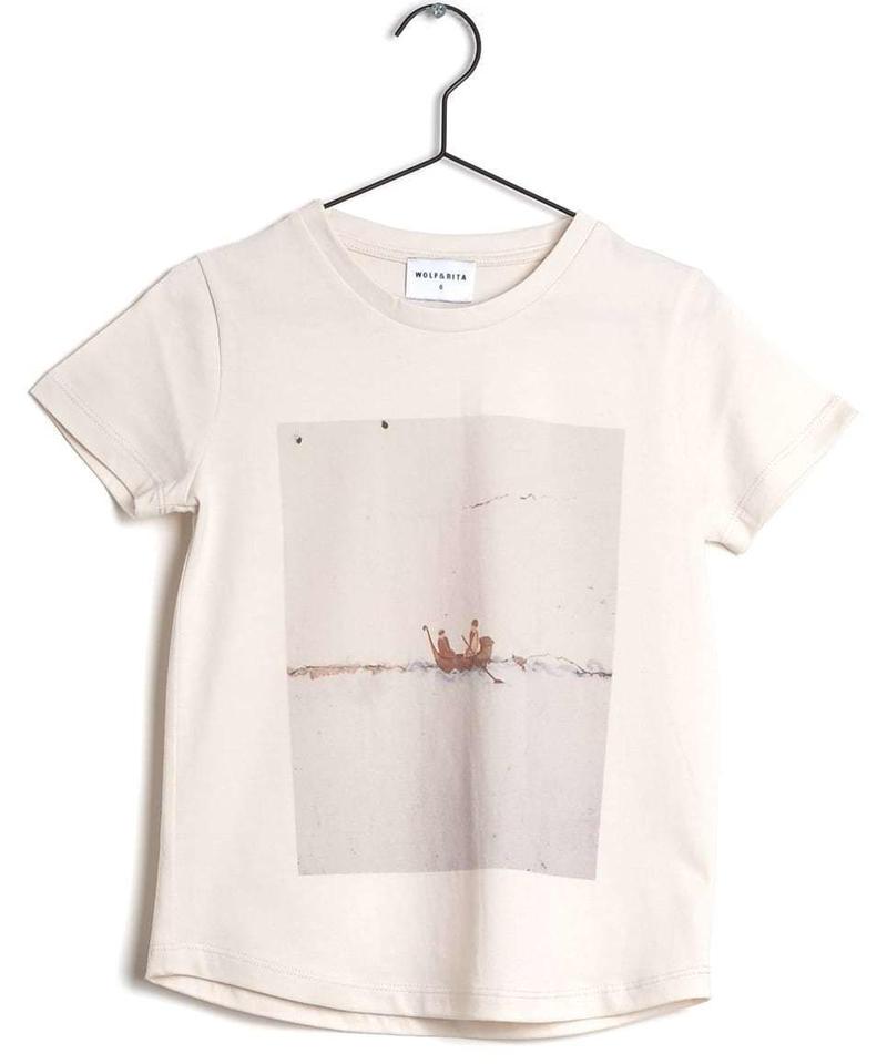 【 WOLF & RITA 2019SS 】SEBASTIAO - T-shirt / ECRU