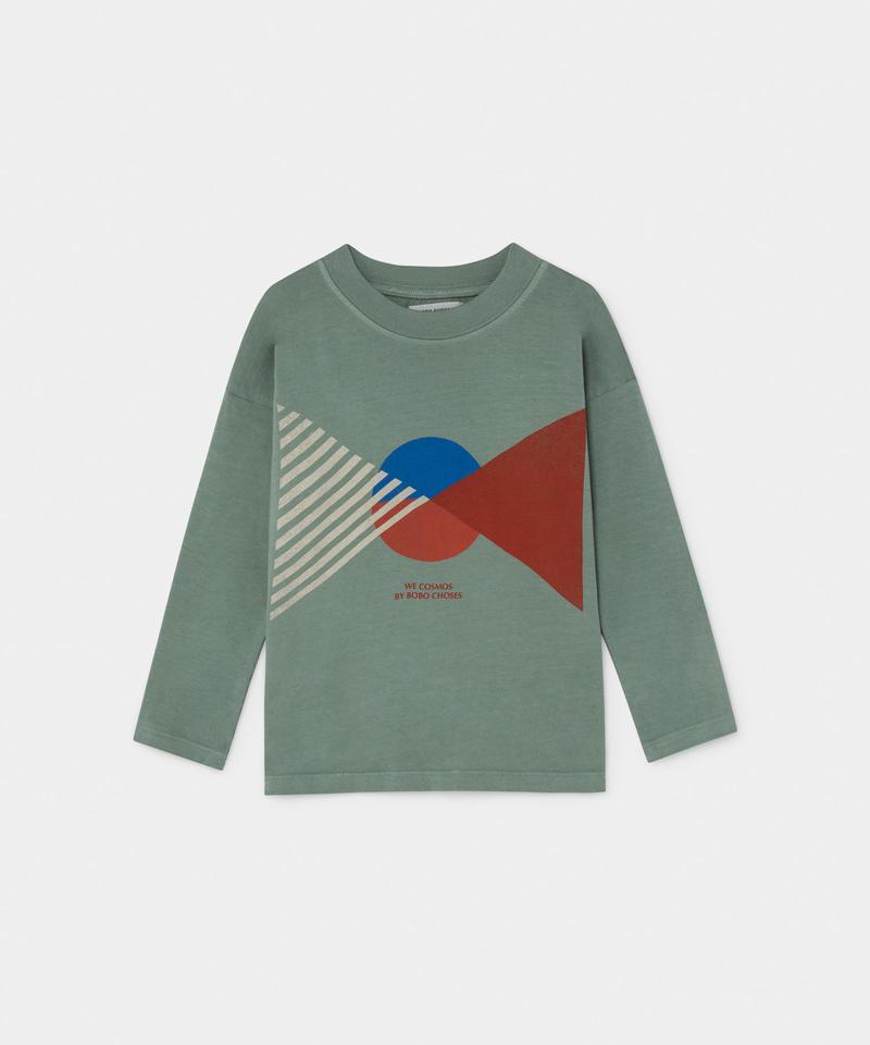 【 Bobo Choses 2019AW 】219005 FLAG LONG SLEEVE T-SHIRT