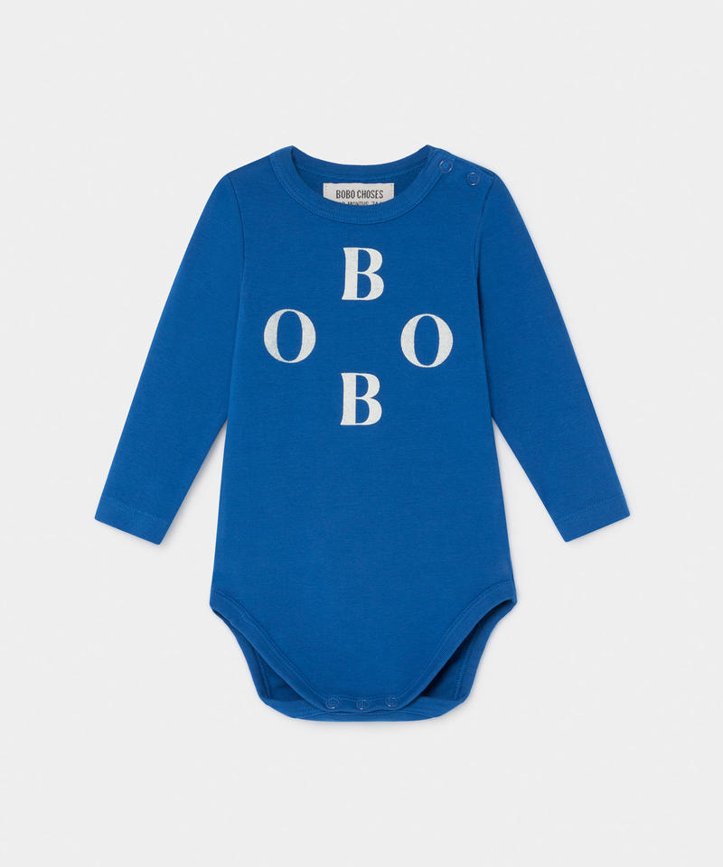 【 Bobo Choses 2019AW 】219144 BOBO LONG SLEEVE BODY / 6-12m