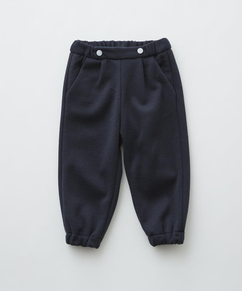 【 eLfinFolk 2019AW 】elf-192F30 freece pants / navy / 110 - 130cm