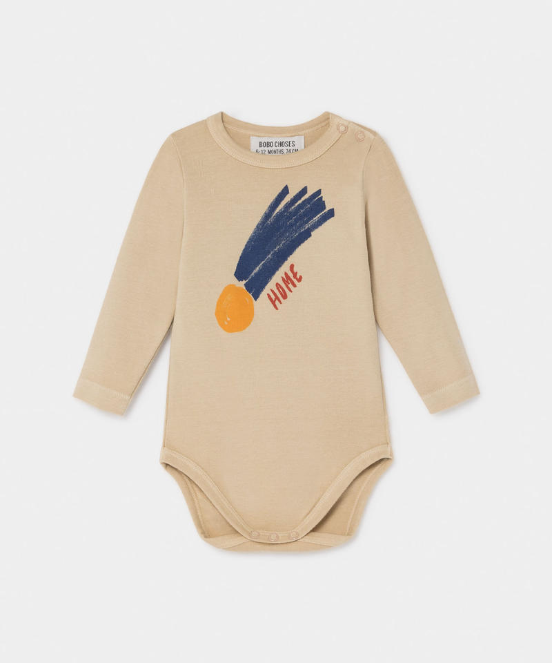 【 Bobo Choses 2019AW 】219143 B A STAR CALLED HOME LONG SLEEVE BODY / 6-12m