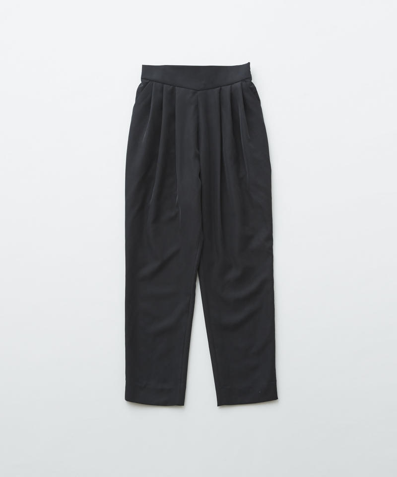 【 eLfinFolk 2019AW 】elf-192F51 modal dress pants / black / 大人