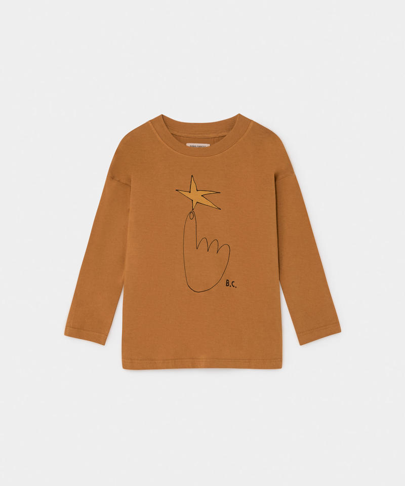 【 Bobo Choses 2019AW 】219011  THE NORTHSTAR LONG SLEEVE T-SHIRT