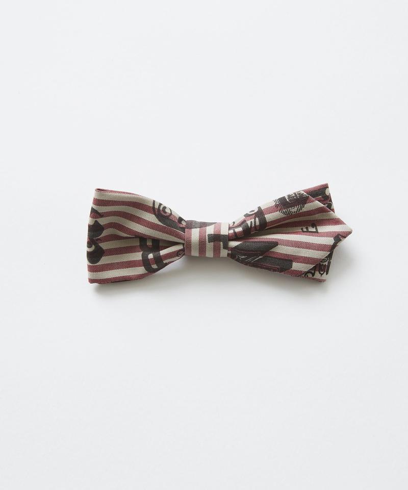 【 eLfinFolk 2019SS 】elf-111A05 bow tie / burgundy