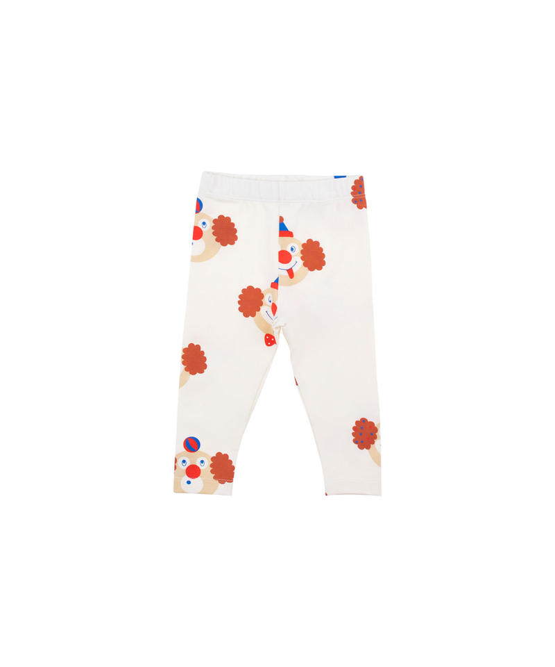 【 tiny cottons 2019SS 】SS19-043 'CLOWNS' PANT / off-white/sienna