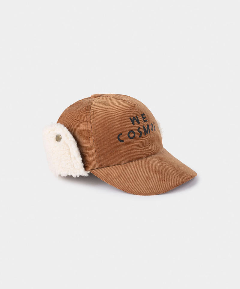 【 Bobo Choses 2019AW 】219237 WE COSMOS SHEEPSKIN CAP (kid size)