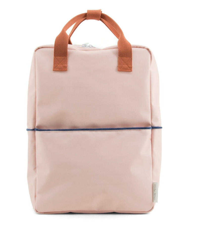 【 Sticky Lemon 】 BACKPACK TEDDY / SOFT PINK / size L